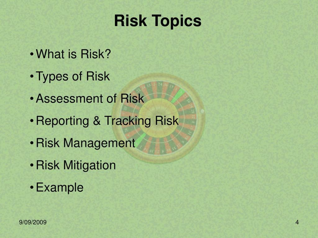 PPT - Risk Analysis PowerPoint Presentation - ID:312318