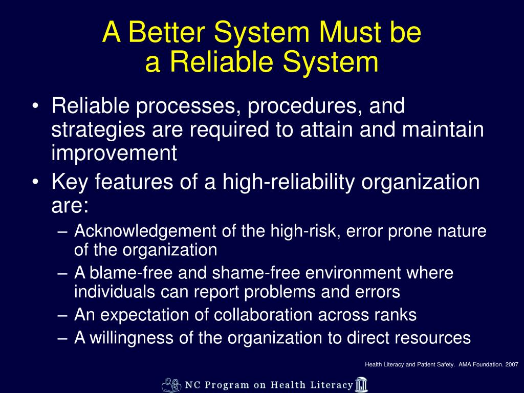 A Better System Must be