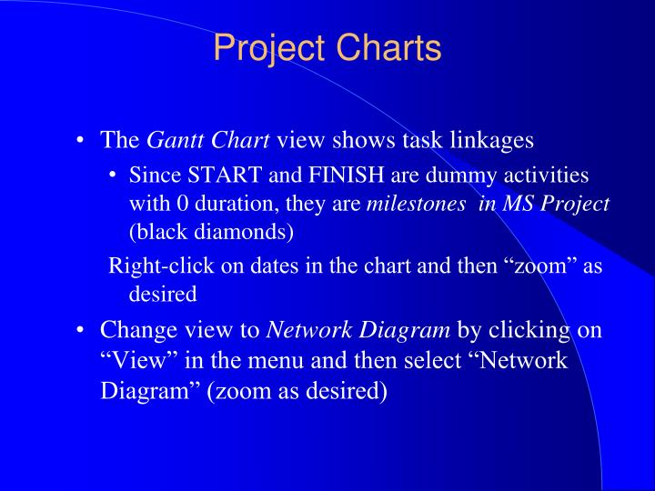 Ppt using ms project 2010 powerpoint presentation id312456 project charts ccuart Gallery