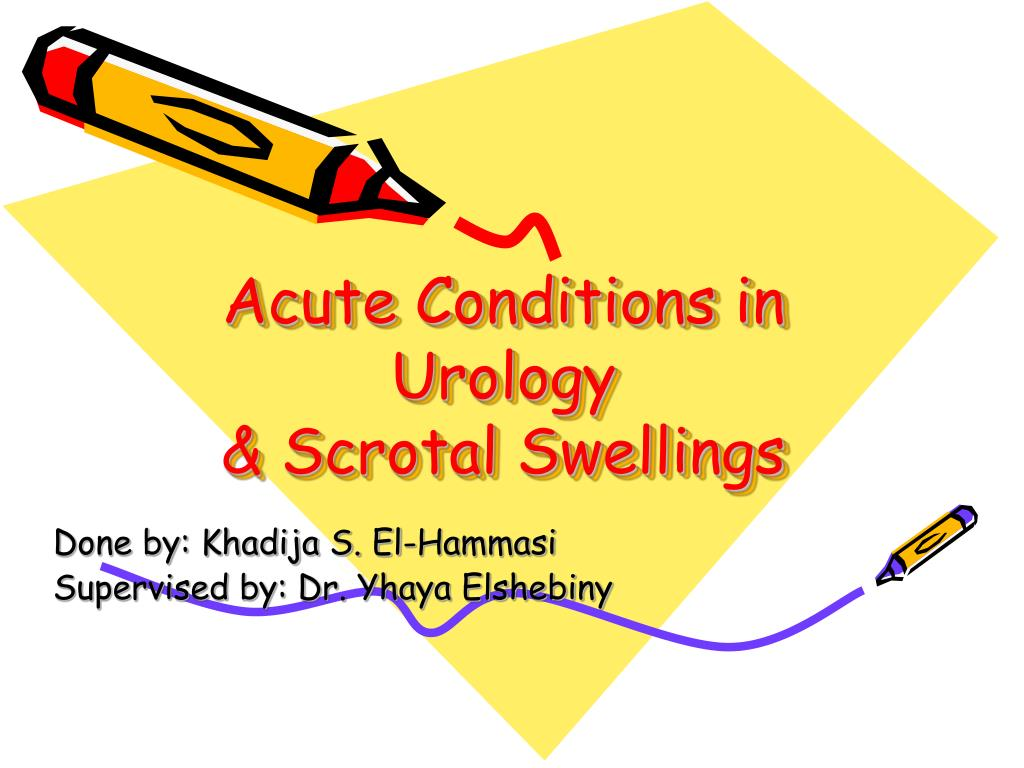 Acute Conditions in Urology