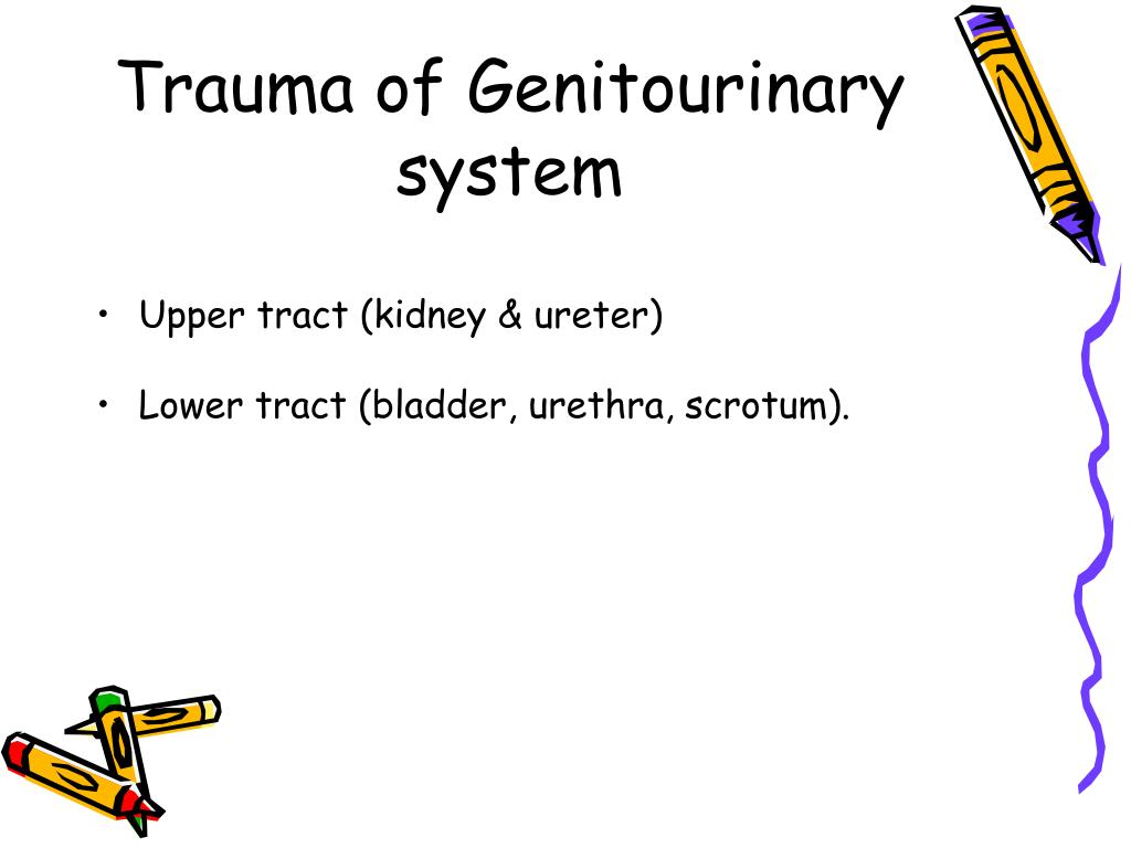 Trauma of Genitourinary system