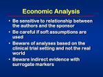 economic analysis55