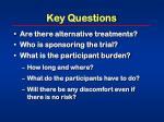 key questions21
