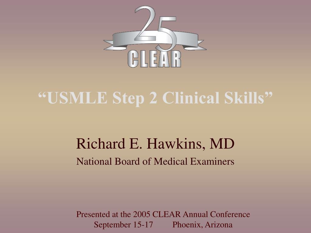 usmle step 2 clinical skills l.