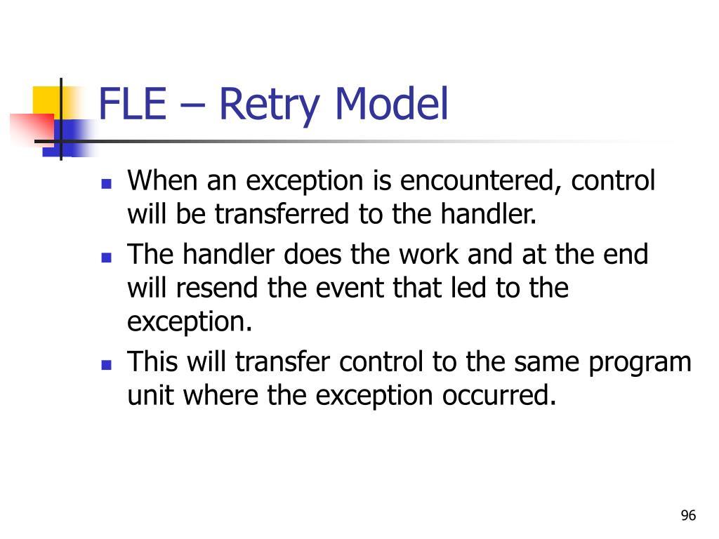 FLE – Retry Model