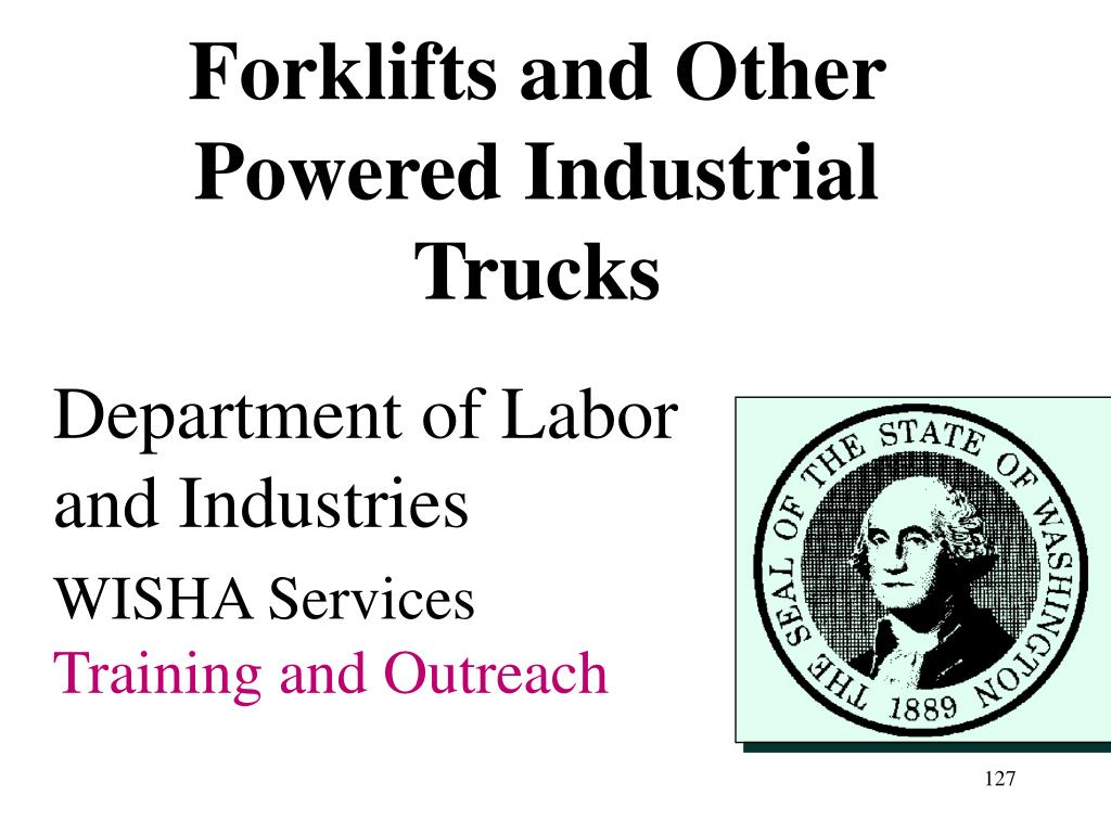 Forklifts and Other Powered Industrial Trucks