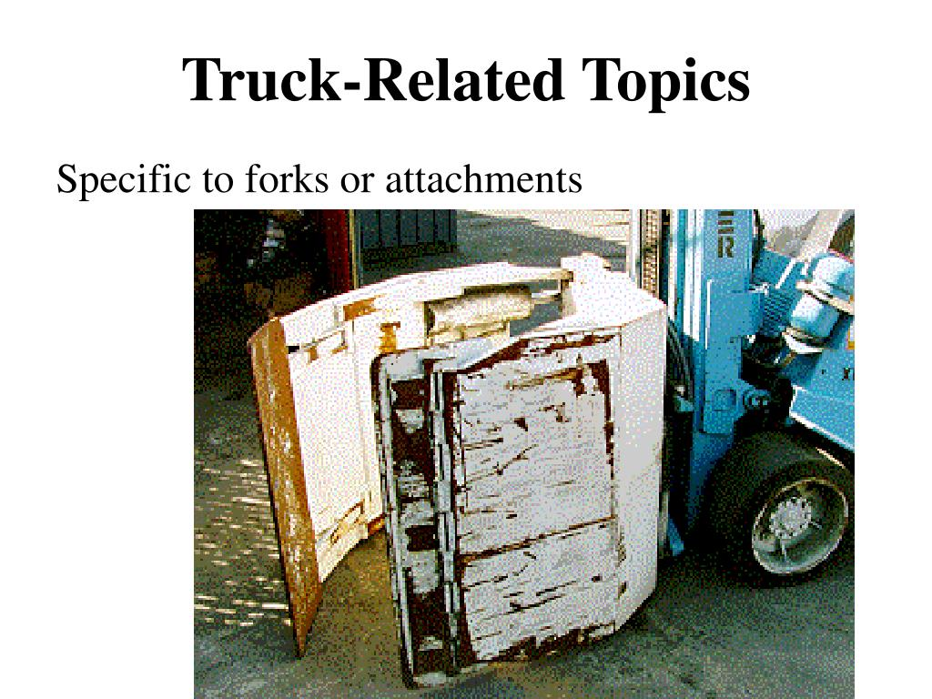 Truck-Related Topics