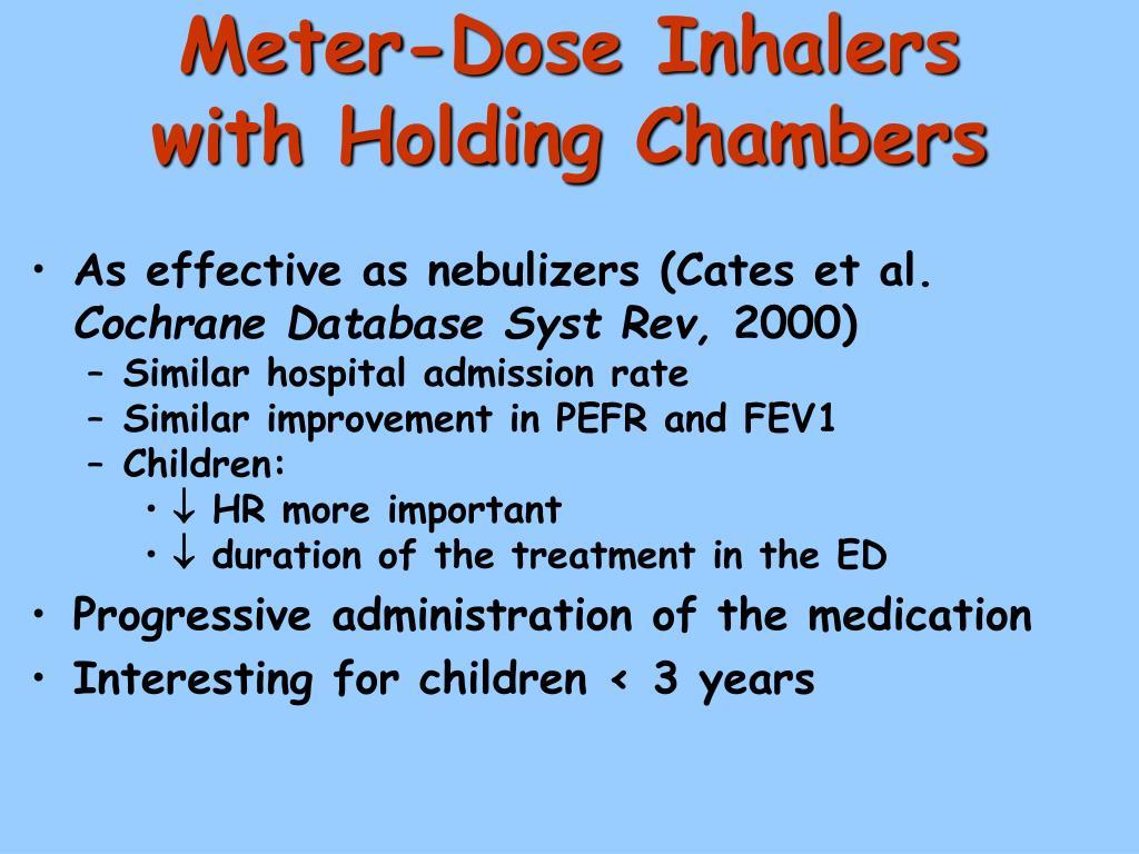Meter-Dose Inhalers
