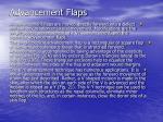 advancement flaps