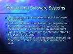 maintaining software systems