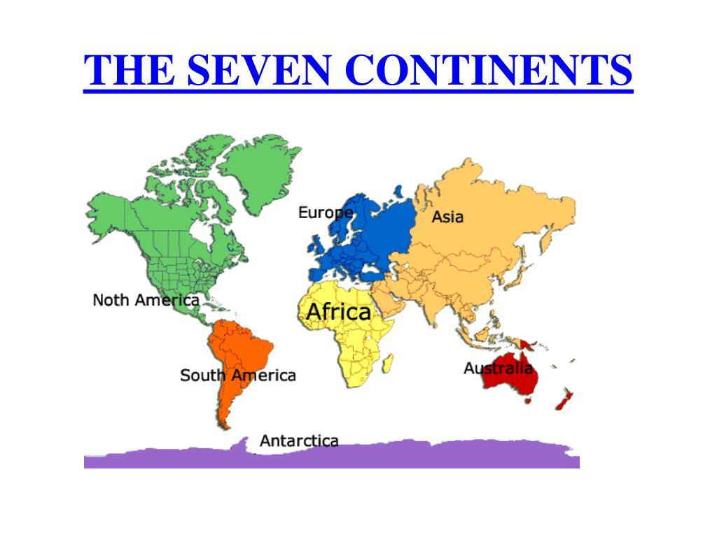 the seven continents l.