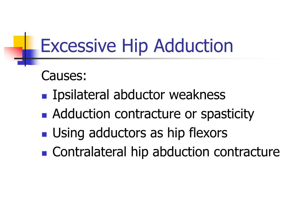 Excessive Hip Adduction