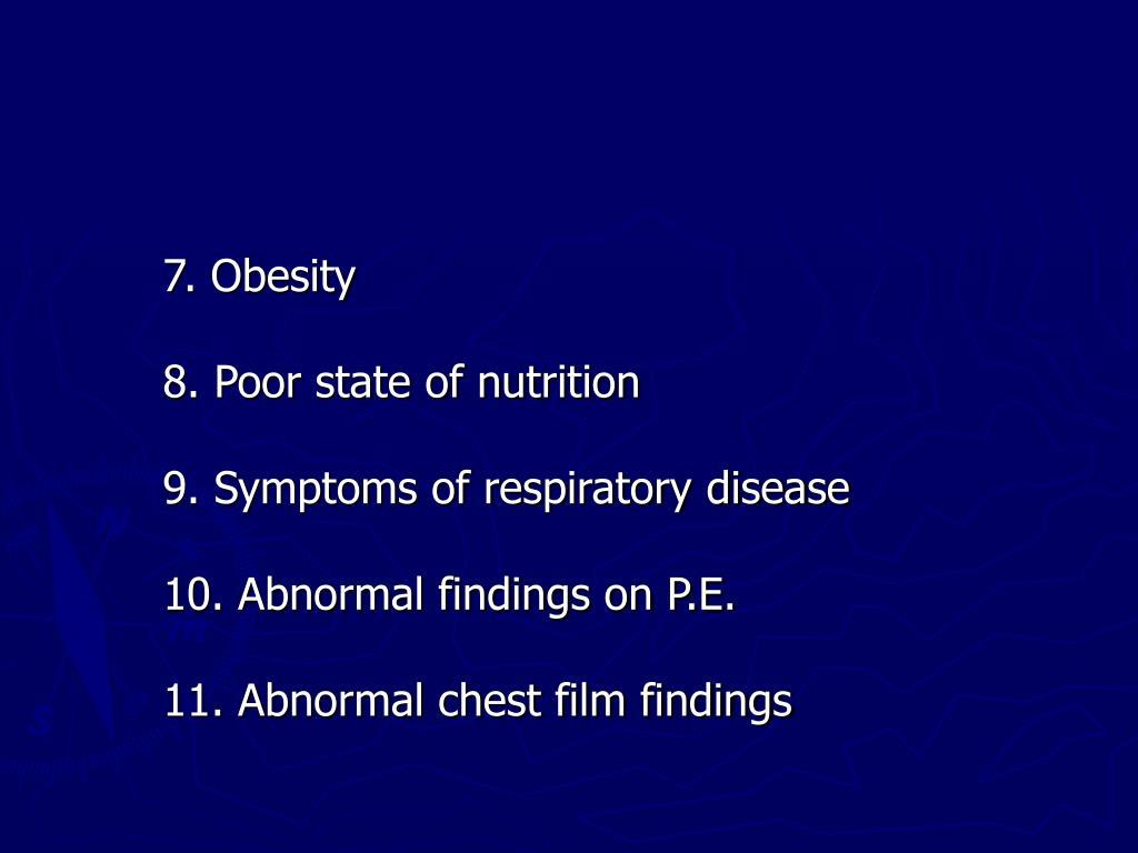 7. Obesity