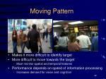 moving pattern