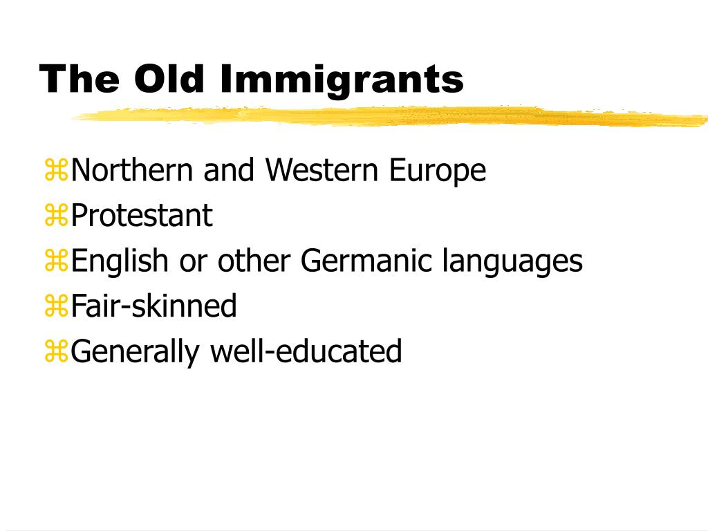 urbanization and immigration