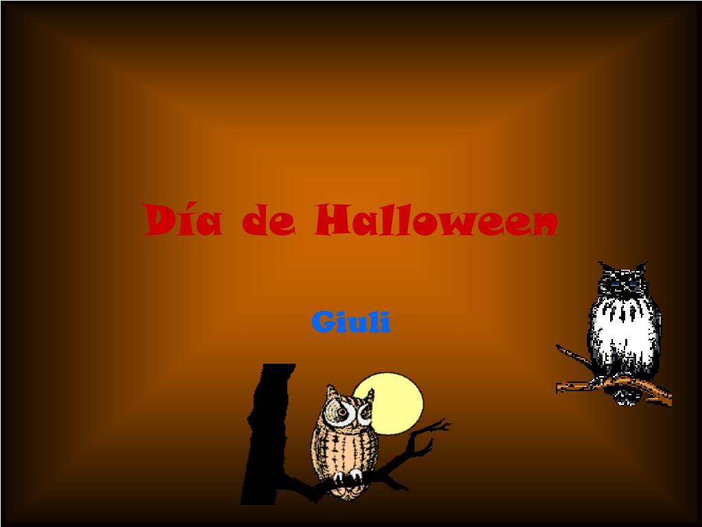 d a de halloween l.