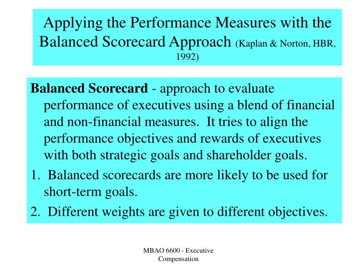 an evaluation of the balance score card of kaplan and norton company Kaplan and norton (1992) discuss the implementation of the balance scorecard as a performance management tool and highlight the company is dedicated to the research and development of products and healthcare for the prevention and cure of unmet.
