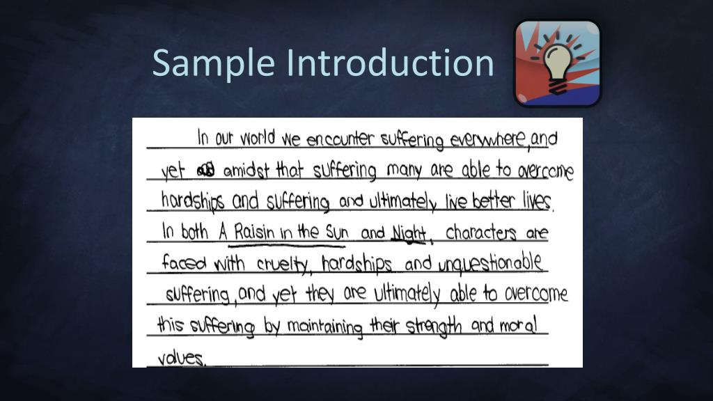 Sample Introduction
