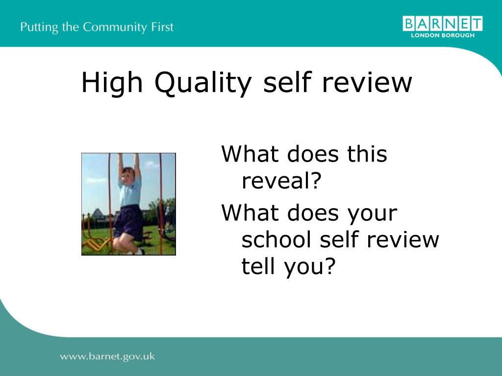 High Quality self review
