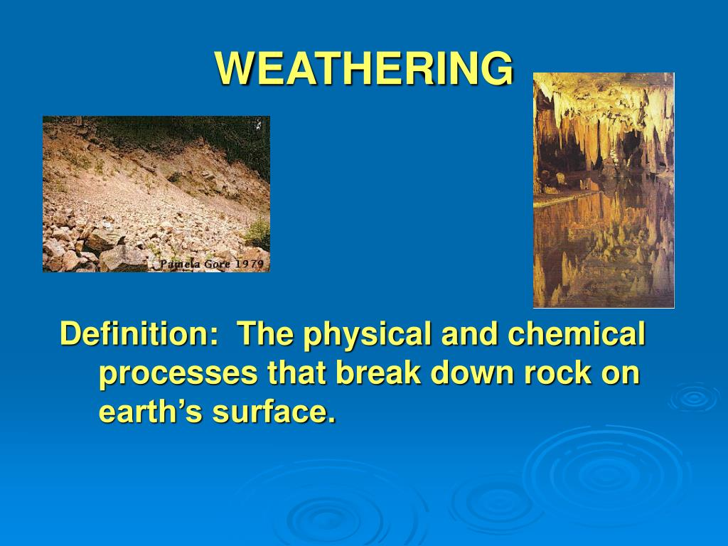 ppt - weathering powerpoint presentation - id:314244