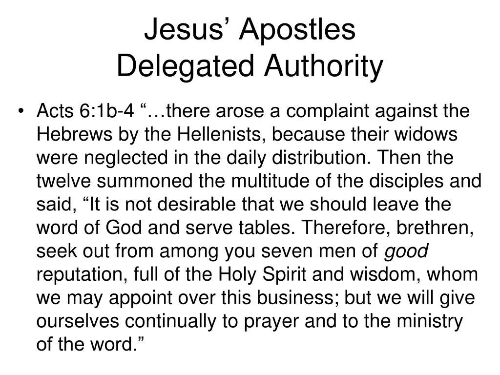 Jesus' Apostles