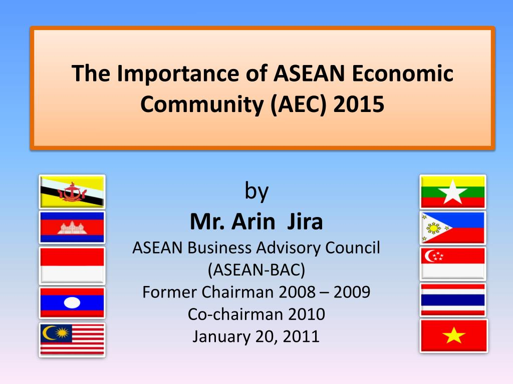 Asean community: an overview ppt download.