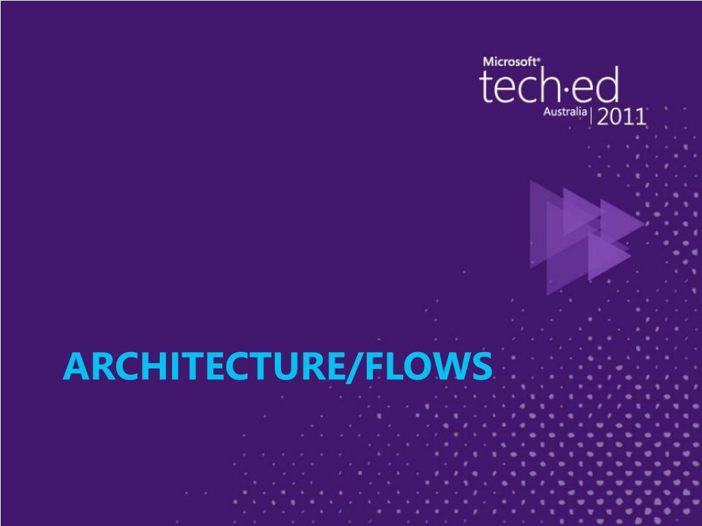 Architecture/Flows