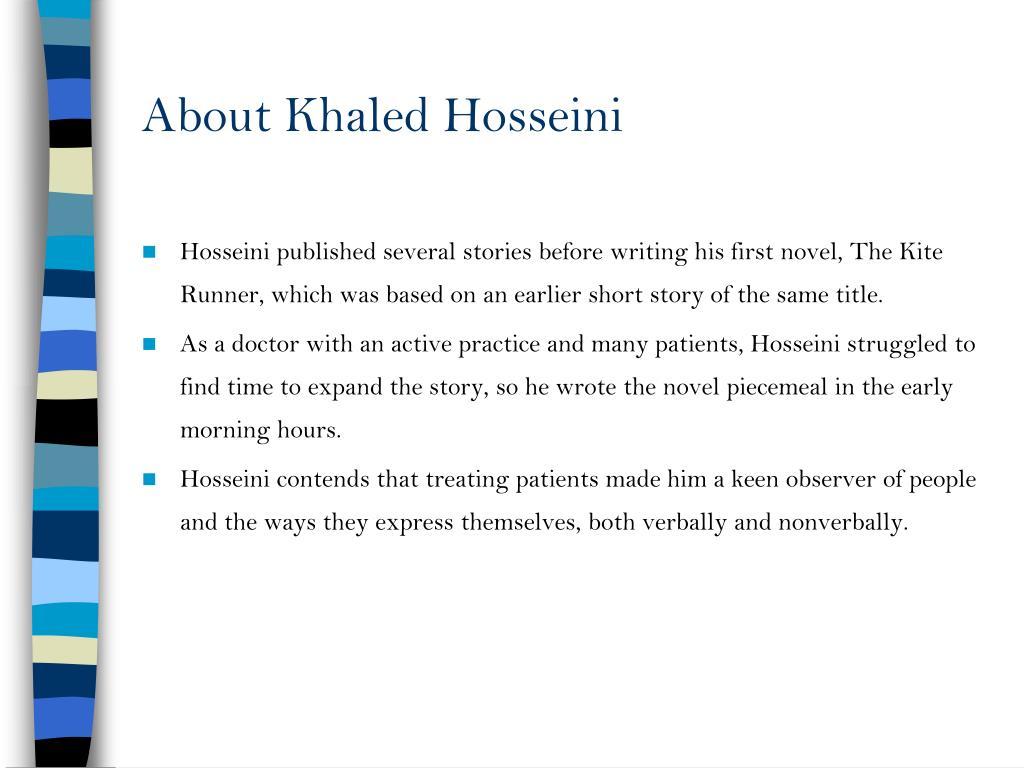 About Khaled Hosseini