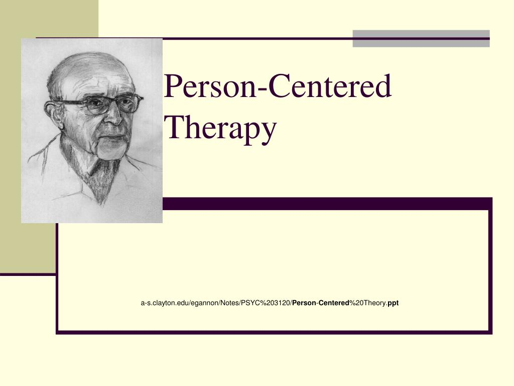 person centered therapy