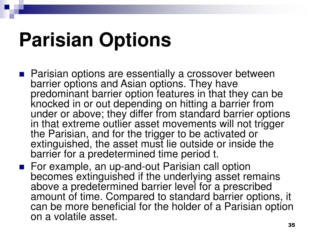 Parisian Options