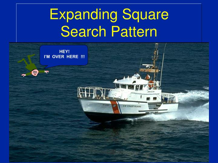 expanding square search pattern n.