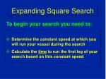 expanding square search10