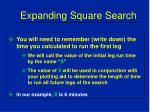 expanding square search13