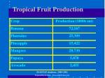 tropical fruit production12