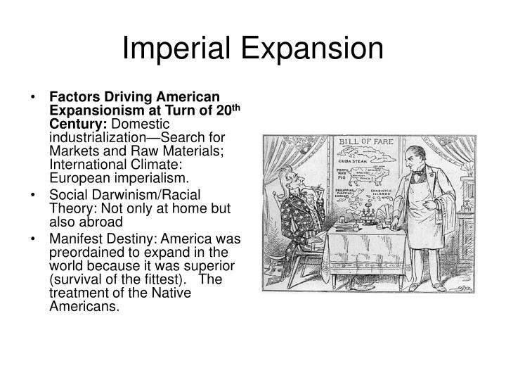 an analysis of the imperialism and expansion in 20th century Early twentieth century mexican but the age of us imperialism and mass media of the period promoted ideas about us superiority and encouraged expansion.