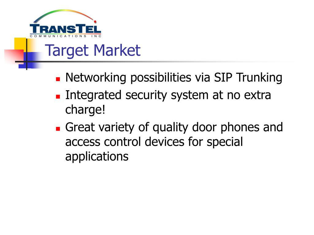 PPT - TransTel Communications, Inc  PowerPoint Presentation