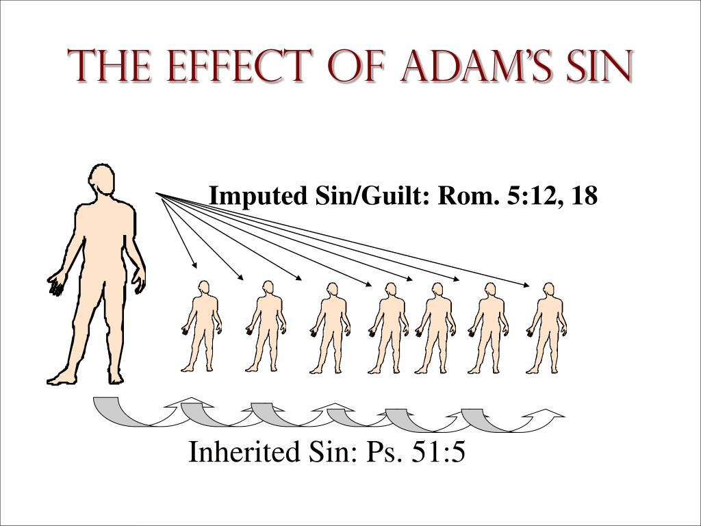 Imputed Sin/Guilt: Rom. 5:12, 18