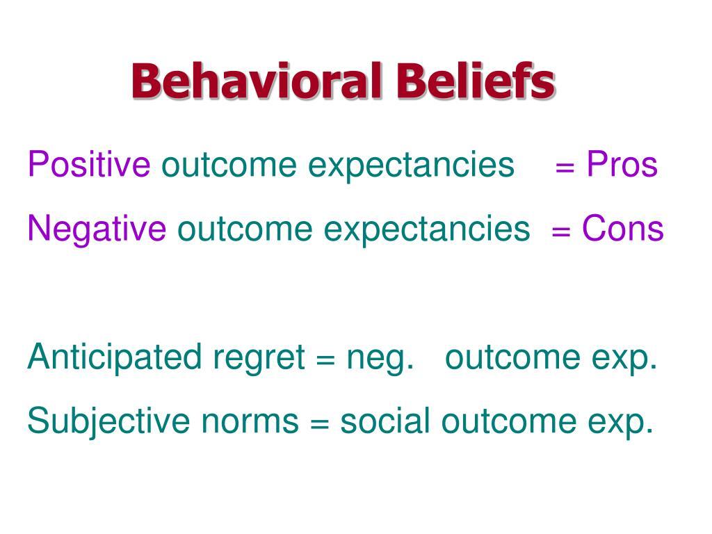 Behavioral