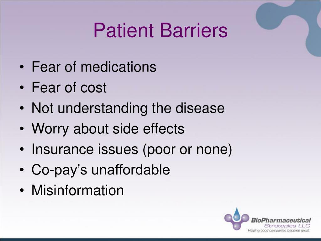 Patient Barriers