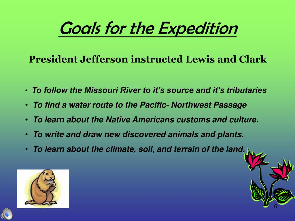 PPT - Lewis and Clark The Journey West PowerPoint Presentation