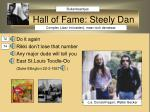 hall of fame steely dan