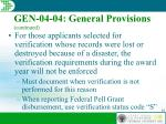gen 04 04 general provisions continued42