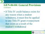 gen 04 04 general provisions continued46