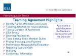teaming agreement highlights