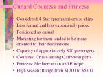 cunard countess and princess