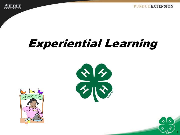 Ppt experiential learning powerpoint presentation id315775 experiential learning toneelgroepblik Gallery