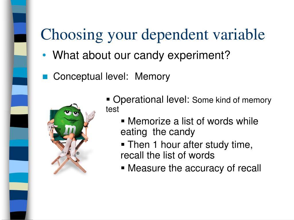 experiment levels of memory