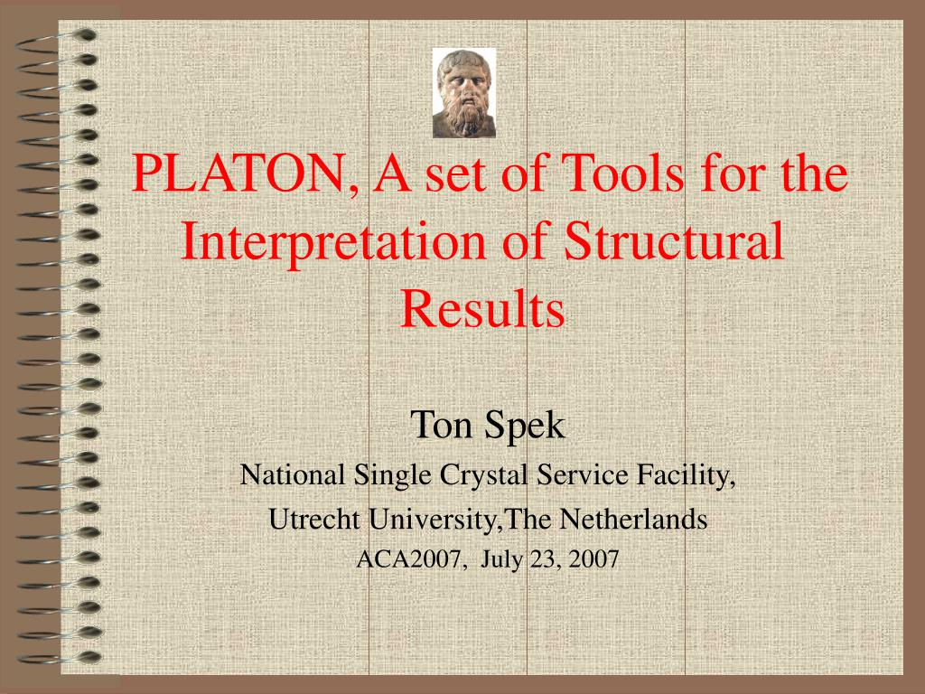 platon a set of tools for the interpretation of structural results l.