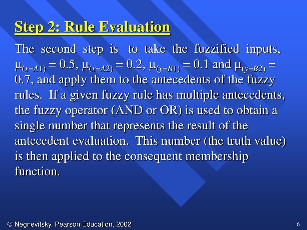Step 2: Rule Evaluation