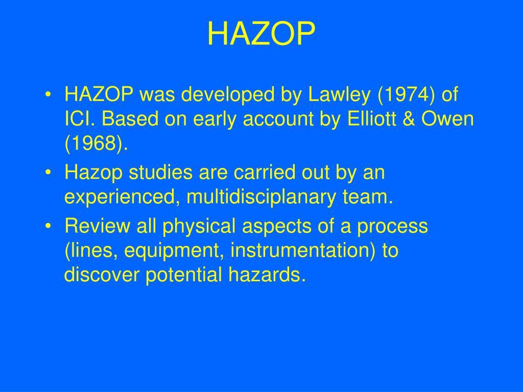 HAZOP - Primatech